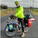 Cyklisten Jonathan Welén från Åkersberga kommer i sommar göra ett av sina största äventyr