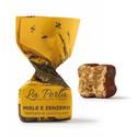 Ny krämig chokladtryffel med kryddig ingefära och djup honungssötma