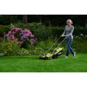 Första ONE+ gräsklipparen som bara behöver ETT batteri!