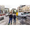 Thomas og Emil holder Oslo snøfritt