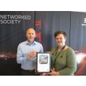 Ericsson Danmark vinder guld for grøn indsats