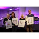 Tre vinnare Förlagsdagen 2015