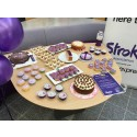 Vision Express' star bakers help to 'Make May Purple' with the Stroke Association