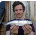 Sensationellt sportfiskerekord fångat i Jämtland
