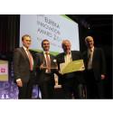 Halmstadföretaget FlexProp vann tillsammans med Audi pris i prestigefull europeisk innovationstävling