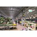 Intelligent belysning sikrer Plantorama stor energibesparelse
