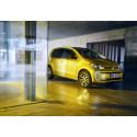 Nya Volkswagen e-up! får längre räckvidd: upp till 260 km.