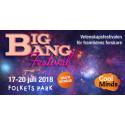 BIG BANG FESTIVAL - En vetenskapsfestival för framtidens forskare