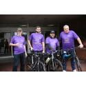 Wimbledon staff tackle Thames Bridges Bike Ride for the Stroke Association