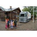 Trafiksäkerhet för barn på Alfons Åbergs Kulturhus