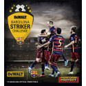 DEWALT® Striker Challenge offers premium VIP trip and unrivalled access to FC Barcelona