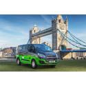 Lontoossa otetaan koekäyttöön uusia ladattavia hybridipakettiautoja, jotka auttavat parantamaan ilmanlaatua