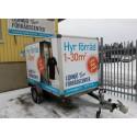 Gratis släpvagnar hos Lidingö Förrådscenter