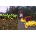 Stränder och kust i Vättlefjäll städades av fotbollsungdomar