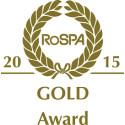 Prestigious RoSPA Gold Award presented to CELTIC ENGLOBE