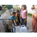 UNICEF och NCC i nytt partnerskap för att ge fler barn tillgång till rent vatten