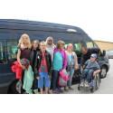 TaxiKurir sponsrar Rosenfeldtskolans klassresa till Stockholm