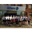 ALLIANZ EMPLOYEES CYCLE FROM GUILDFORD TO PARIS TO RAISE £20,000 FOR CHARITY