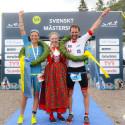 Åsa Lundsröm och Fredrik Bäckson tog SM-guld i Vansbro