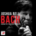 Joshua Bell records Bach. Bell is soloist and music director of The Academy of St Martin in the Fields. Bach Available From Sony Classical on September 29, 2014