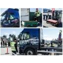 Kvaltävling till Yrkes-SM för unga lastbilsförare i Eskilstuna 11 oktober