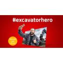 Ta chansen att bli en #EXCAVATORHERO