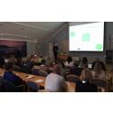 Föreläsning vid marknadsworkshop i Jukkasjärvi