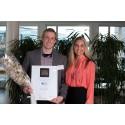 Håvard Dybvik fra NTNU ble Årets IT student