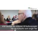 VGR beviljar 10 miljoner till kulturprojekt – för ett kulturliv som angår fler