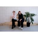 A Print Stockholm curators Agnes Gidenstam and Naima Callenberg