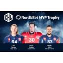 Finalisterna till mest värdefulla spelare i CHL