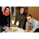 Nye kolleger og nye ideer: Idéhus utvider