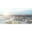 Helsingborgs nya affärsdistrikt tar form