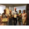 Årets Miljöpris till GAIA BioMaterials i Helsingborg