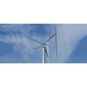 Forskningsresultat från ett 200 kW vertikalaxlat vindkraftverk