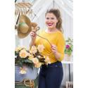 Jessica Frej väljer färgglada växter i ampeln!
