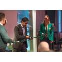 Civilminister Ardalan Shekarabi invigde branschorganisationen Gröna Städer