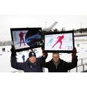 Posten markerer skiskytter-VM med nye frimerker