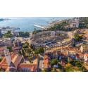 Uutuus! Kesän uutuuskohteena Kroatian Istria: Pula ja Porec