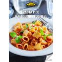 Receptblad pasta med halloumibolognese