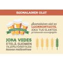 Kotimaisen oluen arvoketju luo työpaikkoja – myös maaseudulle