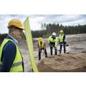 KSRR har tagit första spadtaget till sitt nya huvudkontor i Moskogen