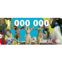 Lauritz.com når kundnummer 1 000 000