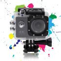 """Vandtæt Action Kamera med 2"""" skærm, 16 Megapixel, 720p i 120 fps"""