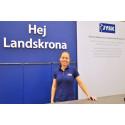 JYSK i Landskrona flyttar till nya handelsområdet