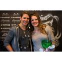 Cheryl Maas (NED) og Helene Olafsen