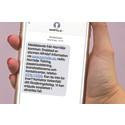 Norrtälje kommun skickar ut samhällsinformation via SMS