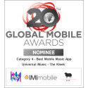 IMImobile and Universal Music nominated with 'The Kleek' for the 2015 Global Mobile Awards