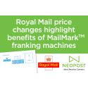 Royal Mail price increases highlight benefits of MailMark franking machines