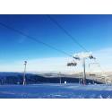 Kraftigt snefald i de svenske og norske fjelde sørger for nyåbnede pister